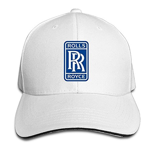 hittings-rolls-royce-sandwich-baseball-caps-for-unisex-adjustable-white