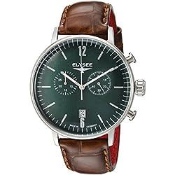 ELYSEE Herren Chronograph grün/silber 13296