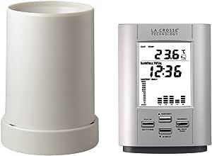 La Crosse Technology WS9006 Pluviomètre électronique - Argent