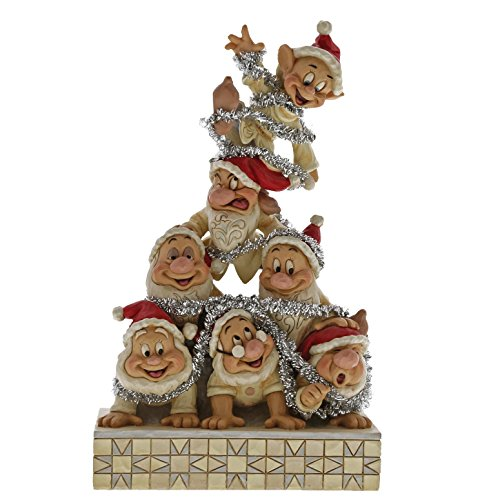 Disney Traditions Precarious Pyramid - 7 Dwarfs Figurine