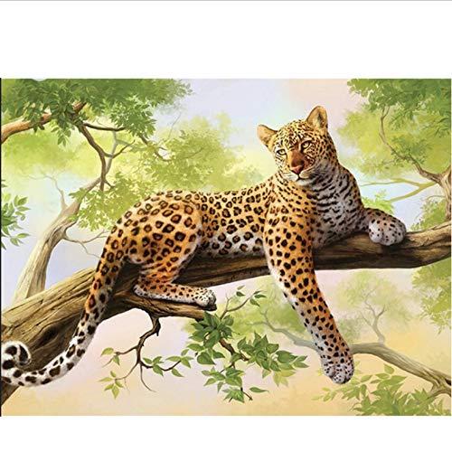 DIY 5D Diamant Malerei Zeichnungen Dschungel Tiere Bild Leopard Diamant Stickerei Cheetah Beast EIN Bild Von Strass Mosaik 30x30 cm Strass Cheetah