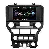 KKmoon Auto Navigation CD DVD Player 8 Zoll Bildschirm Touchscreen mit europäischen Karte Stereo Radio GPS Navigation für Ford für Mustang 2015 2016 2017