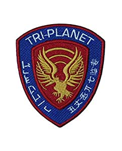Firefly Serenity Tri Planet Red Badge Embroidered Patch 4 Sew-on or Iron-on by Jean Junction