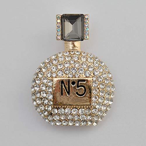 MYHMG Broches Elegant Charm Female Brooch Female Perfume
