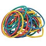 #6: FOX MICRO Nylon Multicolor Rubber Bands - 1 inch Diameter Standard - 500 pcs