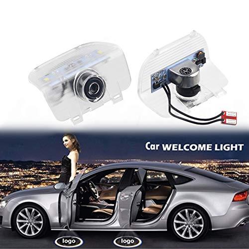 LED Symbol Willkommenslicht Tür Logo Projektor Lampe, Boden Geisterlicht Schatten Tür Warnlicht, Geeignet für Honda SPIRIOR Odyssey CR-Z usw.