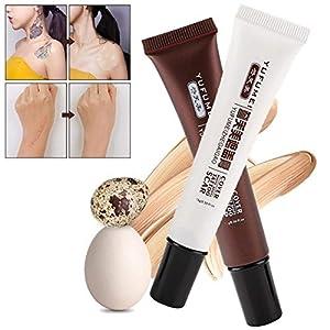 Cicatriz corrector, la piel y el tatuaje Corrector Set Maquillaje Resalte la peca Cicatriz Manchas punto Corrector correctiva poner crema