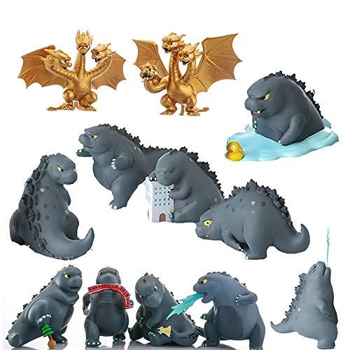 Dailygocn Godzilla Spielzeuge 12 Arten Zufällig Box Pro 1 Glücklich Box Halloween Spielzeug Sammlung Zubehör Erwachsene Teen Kind Fans Geschenk