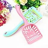 #6: Pets Empire Cat Litter Scoop Candy Color Plastic Scooper with Long Handle Pet Cleaning Tool 1 Piece Color May Vary