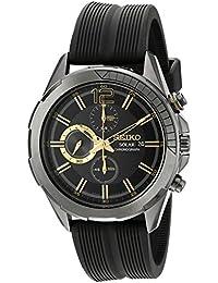 Seiko De los hombres Watch Solar Chronograph Japan Reloj SSC385P1