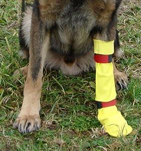 DogGusti Chaussette de protection étanche pour chien en latex naturel Taille M