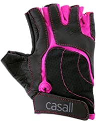Casall - Exercise Glove, color negro ,rosa , talla L