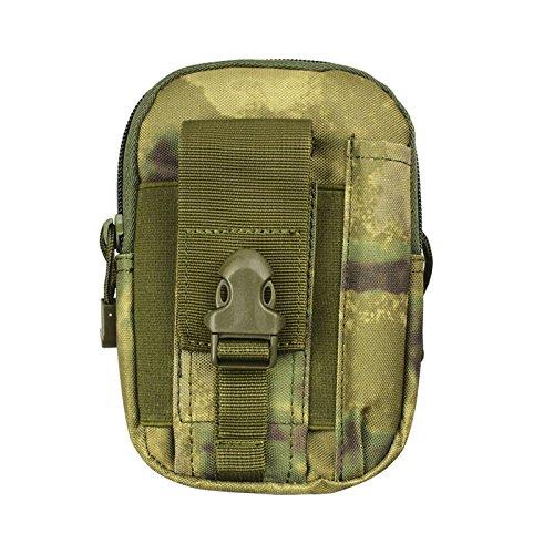 ZYT Outdoor Sport Pocket Herren 5.5/6 Zoll wasserdichte Handy Tasche Paket ausführen Beine army green