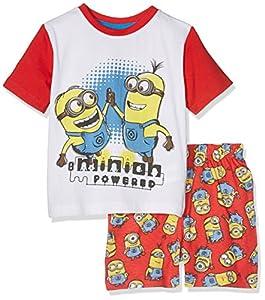Nickelodeon Boy's Minions Powered Pyjama Sets