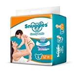 #10: Snuggles Standard Pants Large Size Diapers - 62 Count