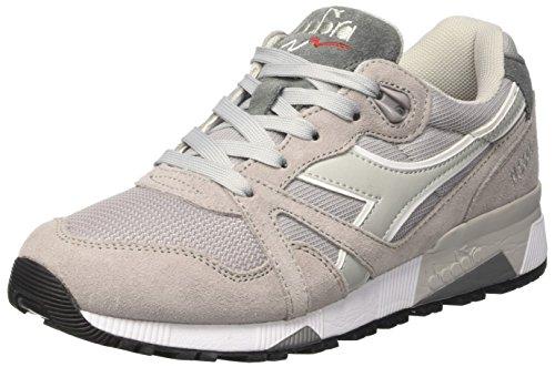 Diadora N9000 Iii, Sneaker Unisexe À Encolure Basse Pour Adulte, Gris (gris Paloma / Gris Alaska)
