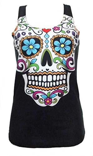 day-of-the-dead-damen-tank-top-shirt-gr-42