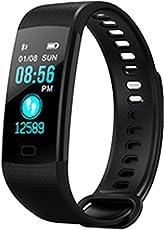 Fitness Tracker HR, Activity Tracker con cardiofrequenzimetro orologio, IP67impermeabile intelligente Wristband con contatore di calorie orologio contapassi sonno monitor per bambini donne uomini