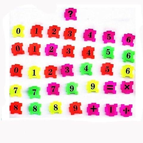 HUHU833 36Pcs Baby Child Number Symbol Puzzle Foam Maths Creative Educational Toys Decor Gift