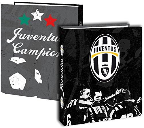 Raccoglitore A4Juventus-Collezione ufficiale Juventus Torino-Calcio-Cartoncino-Spessore 4cm 4anelli