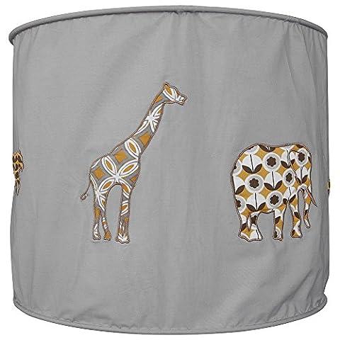 Taftan Soft Shade Lamp, Safari
