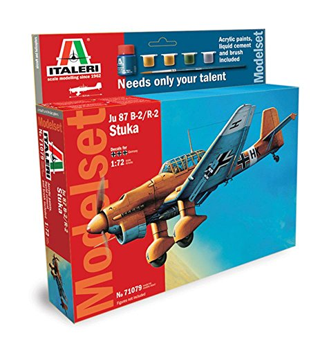 Italeri 510071079 - 1:72 JU-87 B-2 Stuka Model Set
