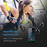 [Modified Version]Mpow Swift Stereo Wireless Bluetooth 4.0 Sport Earphones Running Headphones Headset with Mic Hands-free Calling and AptX for iPhone 7 7 Plus 6s 6s Plus, iPad, LG G2 and Other Android Cell Phones, Blue Bild 3