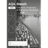 AQA GCSE French: Higher: Grammar, Vocabulary & Translation Workbook: (pack of 8)