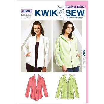 KWIK-SEW PATTERNS Kwik Sew Mustern K3712, Größe XS klein – mittel ...