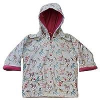 Powell Craft Unicorn Print Raincoat