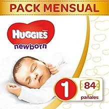 Huggies Newborn Pañales Recién Nacido Talla 1 (2-5 kg) ...