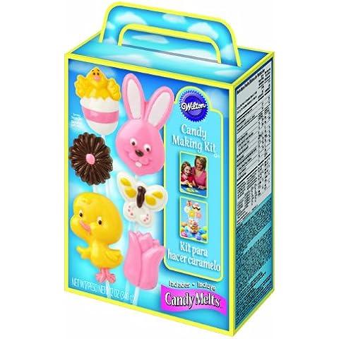 Wilton Lollipop Making Kit -kit completo per realizzare lollipop- Pasqua