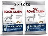 Royal Canin Health Nutrition Dermacomfort Maxi (2 x 12 kg) Hundefutter