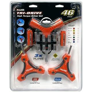 Allied Tools 36048 Tri-Drive Set, 46-Piece