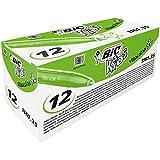 BIC Kids Visacolor XL Feutres de Coloriage à Pointe Large - Vert Clair, Boîte de 12