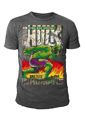 Marvel -  T-shirt - Basic - Collo a U  - Uomo Grau L