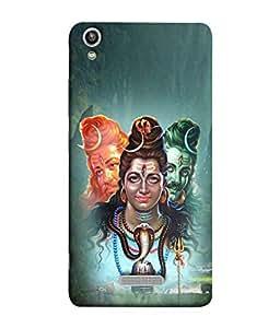 PrintVisa Designer Back Case Cover for Lava Pixel V1 (Enlightenment Illustration Mythological Pilgrimage Spirituality Traditional Beautiful Auspicious)