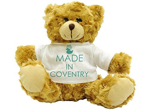 Made in Coventry–Plüsch Teddy Bär (Höhe ca. 22cm) (Bar Coventry)
