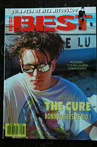BEST 226 MAI 1987 THE CURE RITA MITSOUKO BON JOVI MICKEY ROURKE