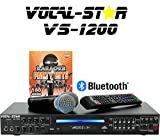 Vocal-Star VS-1200 CDG DVD HD Karaoke Machine With 2 Microphones and Top Party Songs