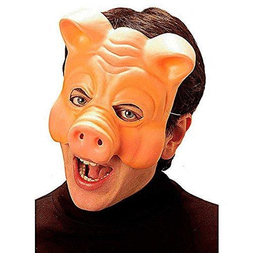 Máscara goma eva de cerdo