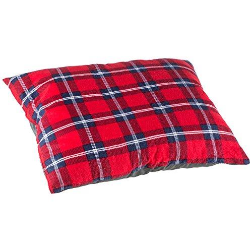 Skandika outdoor dundee sleepyhead federa per cuscino, rosso/blu, m