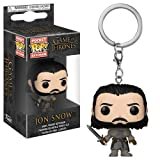 FunKo Figurine Pop Porte-clés - Game of Thrones - Jon Snow Beyond The Wall