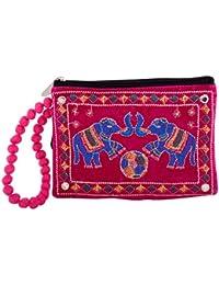 A R Sales Women's Wristlet (Pink, AR_BAG159)