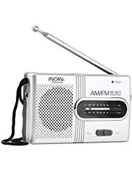 Comtervi BC-R21 Mini Radio Am FM Altavoz Reproductor Altavoces Estéreo Portátil Reproductor de Música Receptor