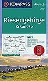 Riesengebirge, Krkonose: 4in1 Wanderkarte 1:50000 mit Aktiv Guide und Detailkarten inklusive Karte zur offline Verwendung in der KOMPASS-App. ... Langlaufen. (KOMPASS-Wanderkarten, Band 2087)