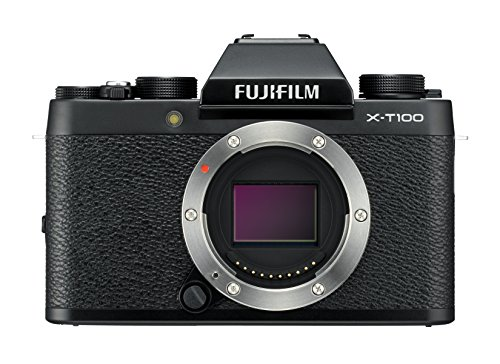 Fujifilm X-T100 Fotocamera Digitale 24MP, Sensore CMOS APS-C,...