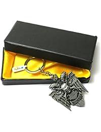 Atargoods 01pc New Motor Harley Davidson Bike Key Chains Metal Keyring Keychain For Bike Keys + (01pc Free Gift)