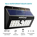 #6: Mpow Solar Lights for Home , 20 LED Super Bright Motion Sensor Street Lights with 3 Intelligent Modes[2nd Gen],Waterproof Solar powered Lamps for Security Outdoor Lighting,Yard,Patio,Garden,balcony,Driveway,Garage,Walkway