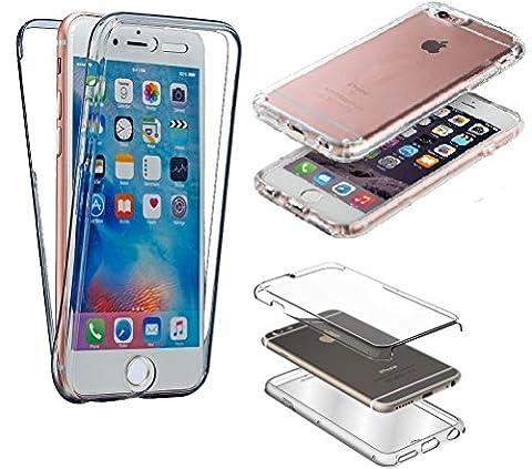 CABLING® Transparent Coque pour iPhone 5 5S SE TPU Silicone